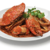 Chilli crab plated