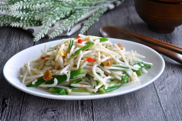 Salted Fish Bean Sprouts