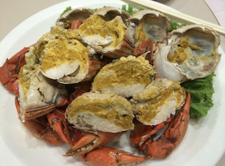 Kian Seng Seafood Restaurant Steamed Crab with Roe
