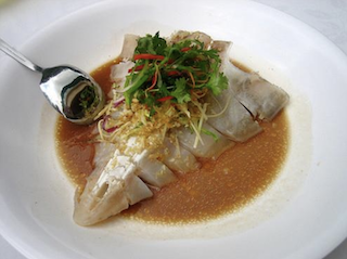 Kian Seng Seafood Restaurant Steamed Shark's Head