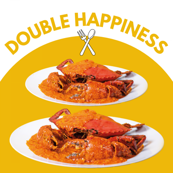 Kai Xin Crabs Double Happiness Promotion