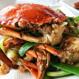 Ginger Spring Onion Crab